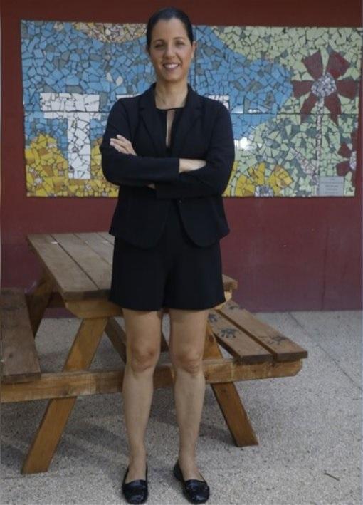 Галит Шауль и сама надела шорты - в поддержку кампании. Фото: фейсбук Галит Шауль