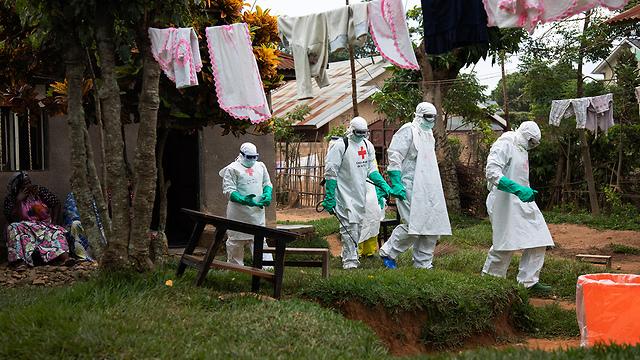 אבולה הרפובליקה הדמוקרטית של קונגו  (צילום: EPA)