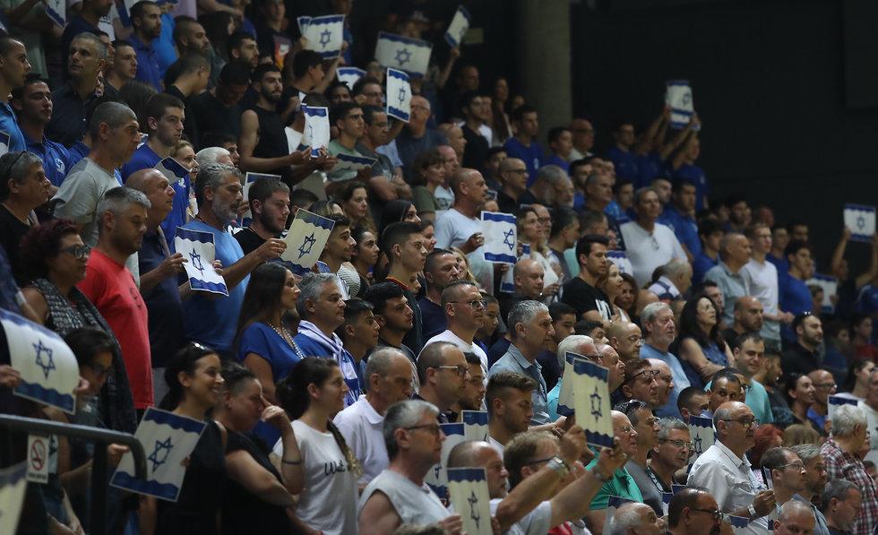 נבחרת ישראל בכדוריד  (צילום: אורן אהרוני)