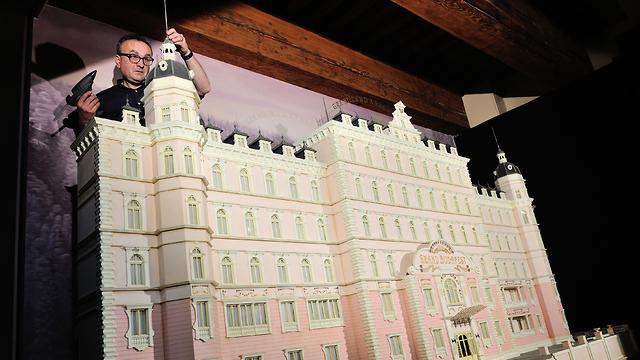 דגם של מלון גרנד בודפשט  ()