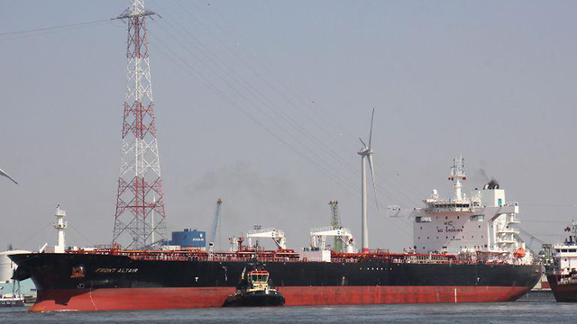 Oil Tanker hit in the Gulf of Oman