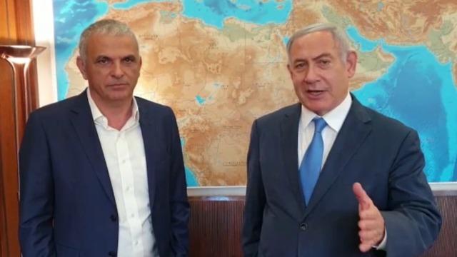 Finance Minister Moshe Kahlon and Prime Minister Benjamin Netanyahu