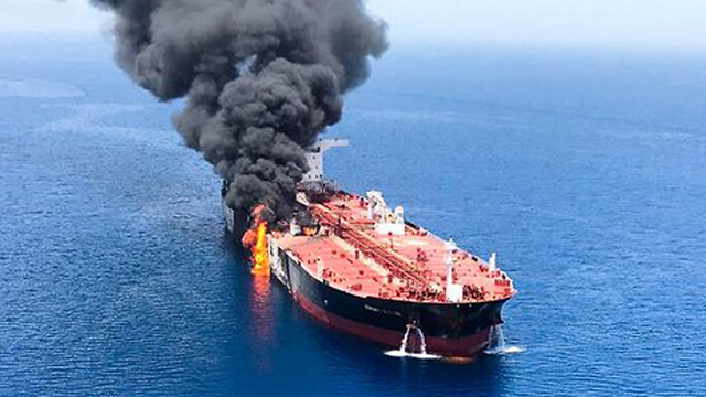 Two oil tankers were attacked in the Gulf of Oman