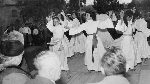 Inauguración del centro juvenil Elanor Roosevelt, Be'er Sheva, 1959