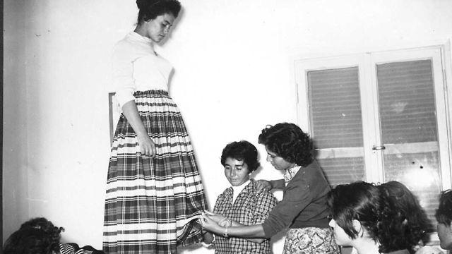 Clase de economía doméstica, Be'er Sheva 1957