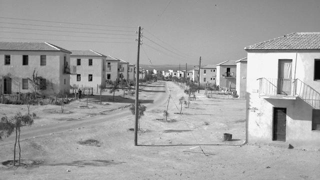 Nueva vivienda en Be'er Sheva 1953