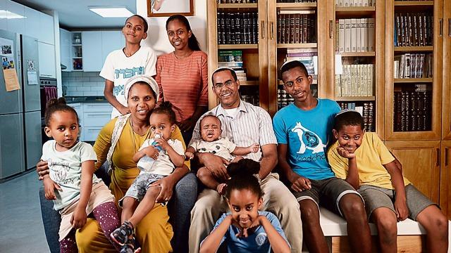 משפחת פטגו (צילום: אסי חיים)