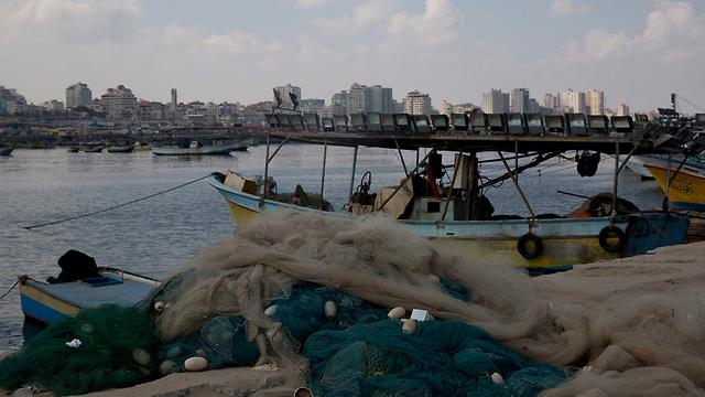 Gaza fishing boats (Photo: AP)