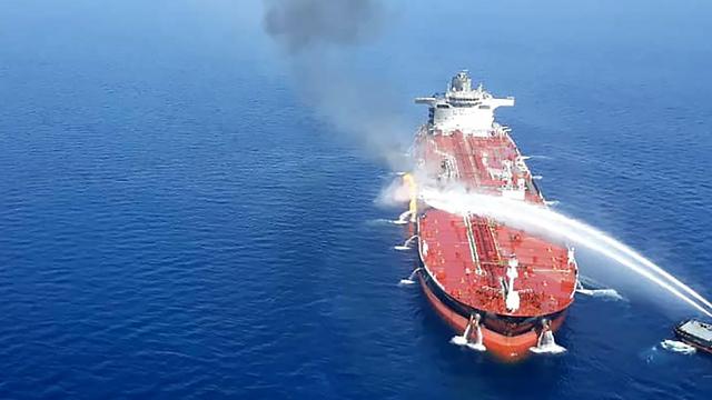 מכלית מכליות נפט הים הערבי מפרץ עומאן המפרץ הפרסי Front Altair מתקפה איראן (צילום: AFP)