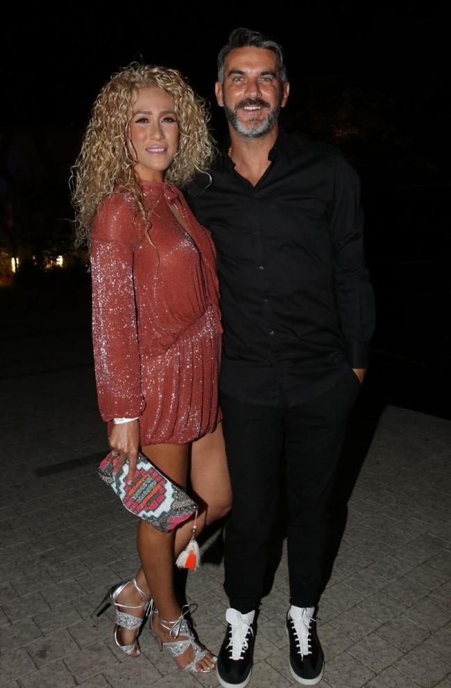 לא זיהינו אותך בלי שמחה. ג'ובאני רוסו ואשתו מאיה (צילום: ענת מוסברג)