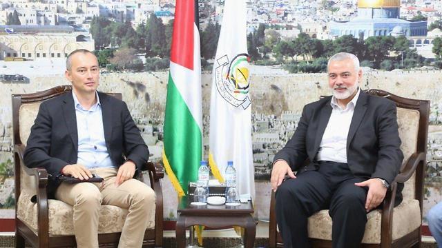 Младенов и Хания на встрече посланника ООН с главарями ХАМАСа