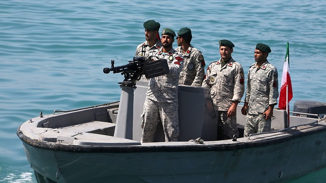Forces navales iraniennes dans le détroit d'Hormuz en avril 2019 (Photo: AFP)