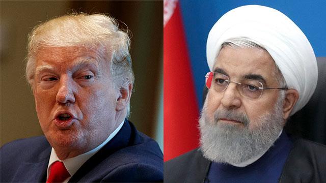 Дональд Трамп, Хасан Рухани. Фото: AP (Photo: AP)