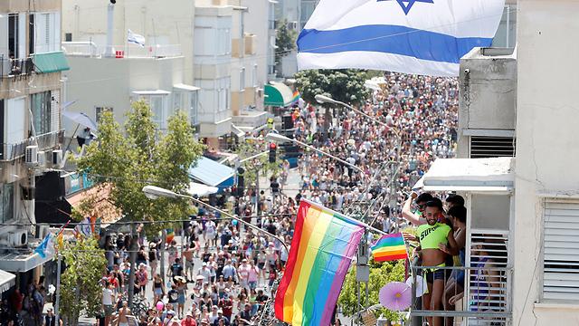 מצעד הגאווה תל אביב (צילום: רויטרס)