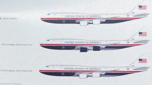 דונלד טראמפ עיצוב חדש של ה מטוס הנשיאותי אייר פורס 1 (צילום: ABC News via AP)