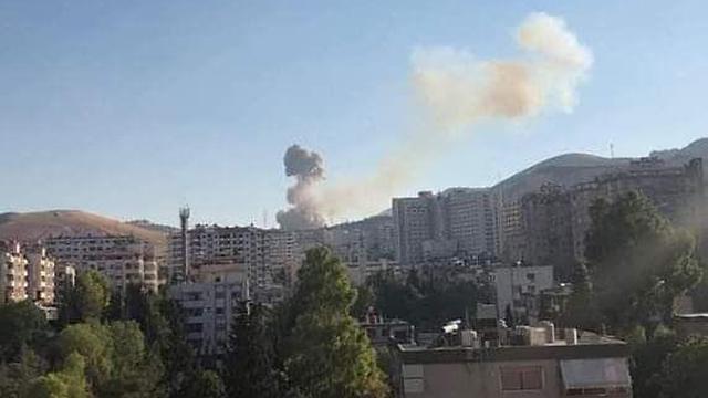 Israeli strike in Syria