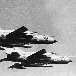 ניצחון מוחץ של חיל האוויר. מטוסי מיג מתוצרת ברית המועצות   צילום: באדיבות עמותת חיל הים