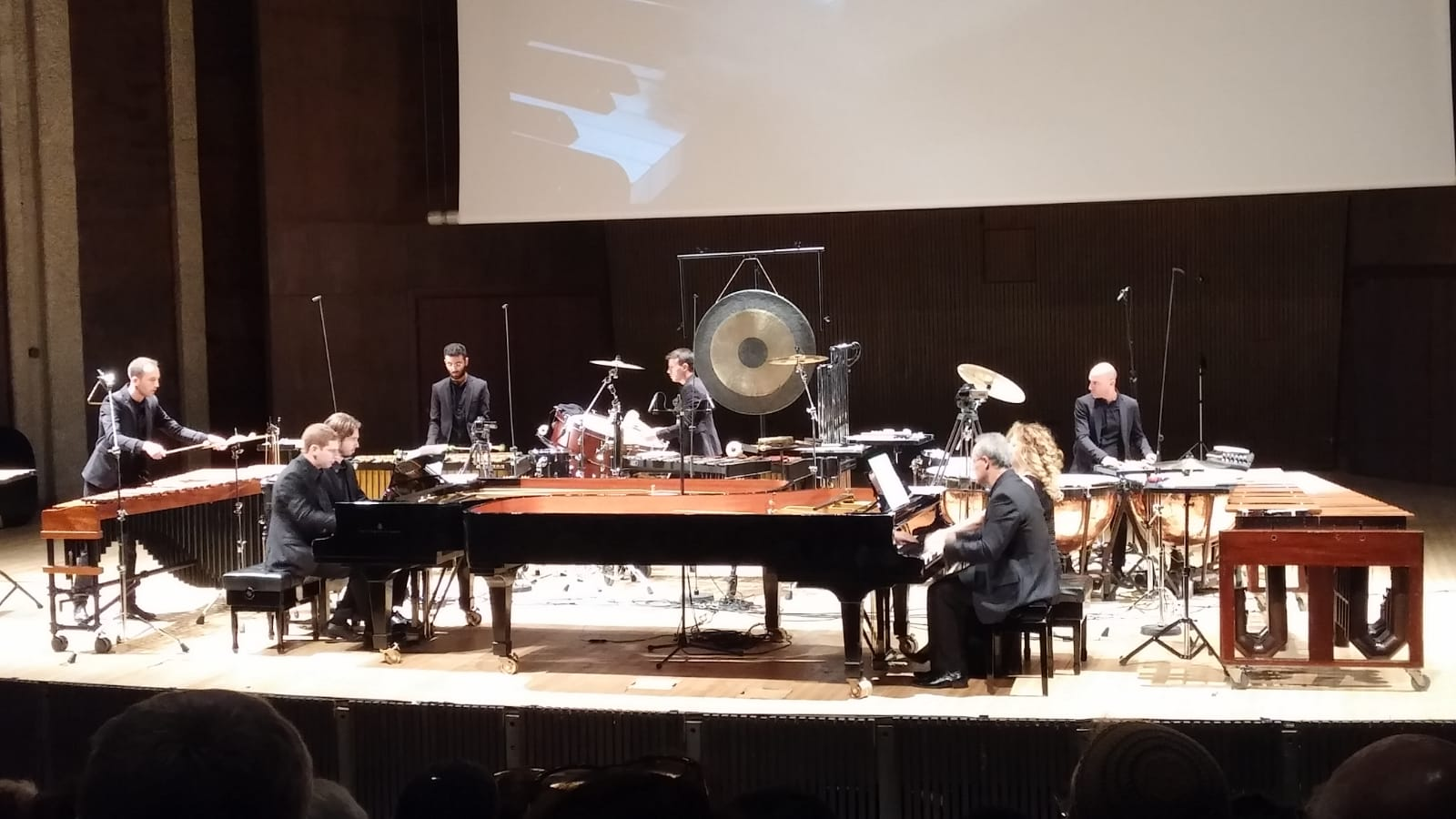 Performing The Planets Suite in Jerusalem (Photo: Francine Herzlich)