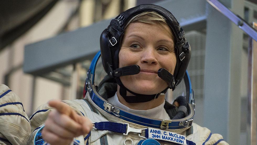 אן מקליין אסטרונאוטית נאס