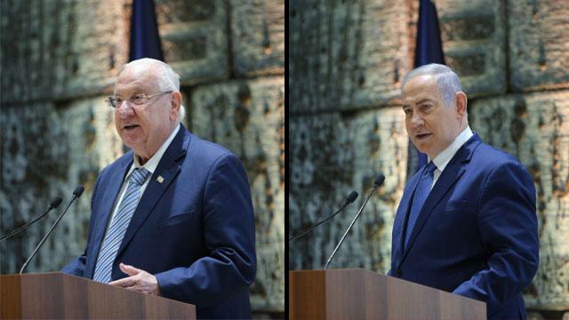 טקס אזכרה ממלכתי משותף נשיאים ראשי ממשלה (צילום: אלכס קולומויסקי)
