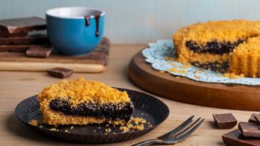 Торт из крошки для шницелей: брауни, который вас удивит