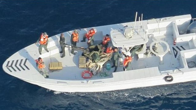 Iranian Revolutionary Gards in the Gulf of Oman (Photo: Getty Images)