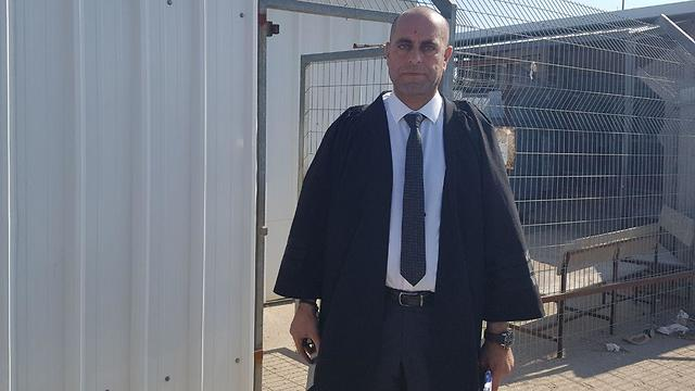 Адвокат обвиняемого. Фото: Элиша Бен-Кимон (Photo: Elisha Ben Kimon)