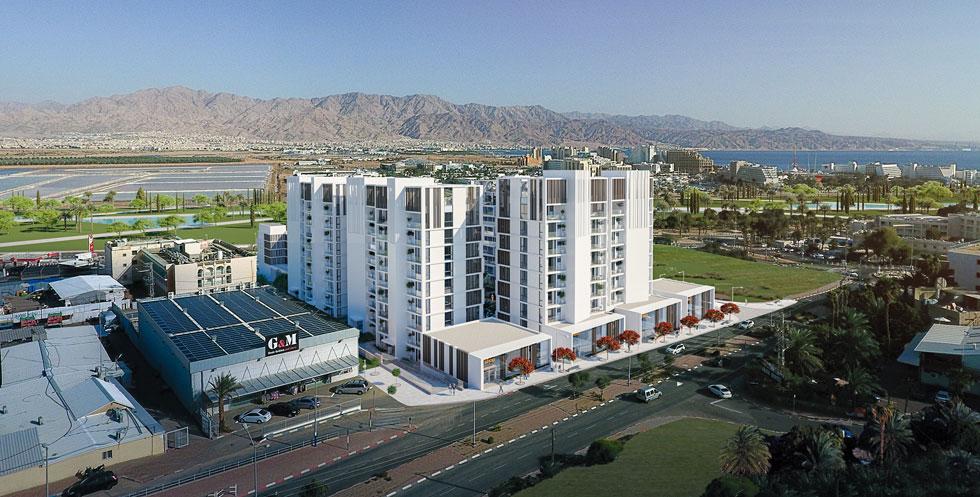 הבניינים הגבוהים מיועדים לדירות יוקרה, בעיקר קטנות, שייהנו משירותי המלון. אורחי המלון יסתפקו בקומות נמוכות (הדמיה: Studio 251)