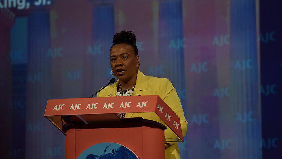 Dr. Bernice King at the AJC conference (Photo: Mannie Garcia/AJC 2019)