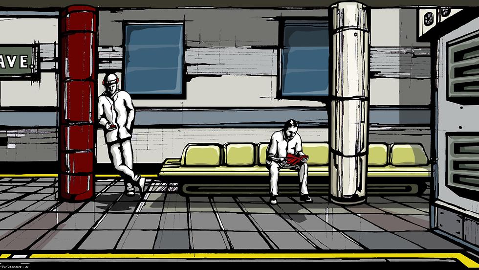 טרמינל  (איור: זיו רוטברד)