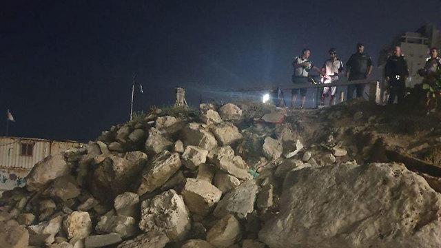 Место происшествия. Фото: пресс-служба полиции