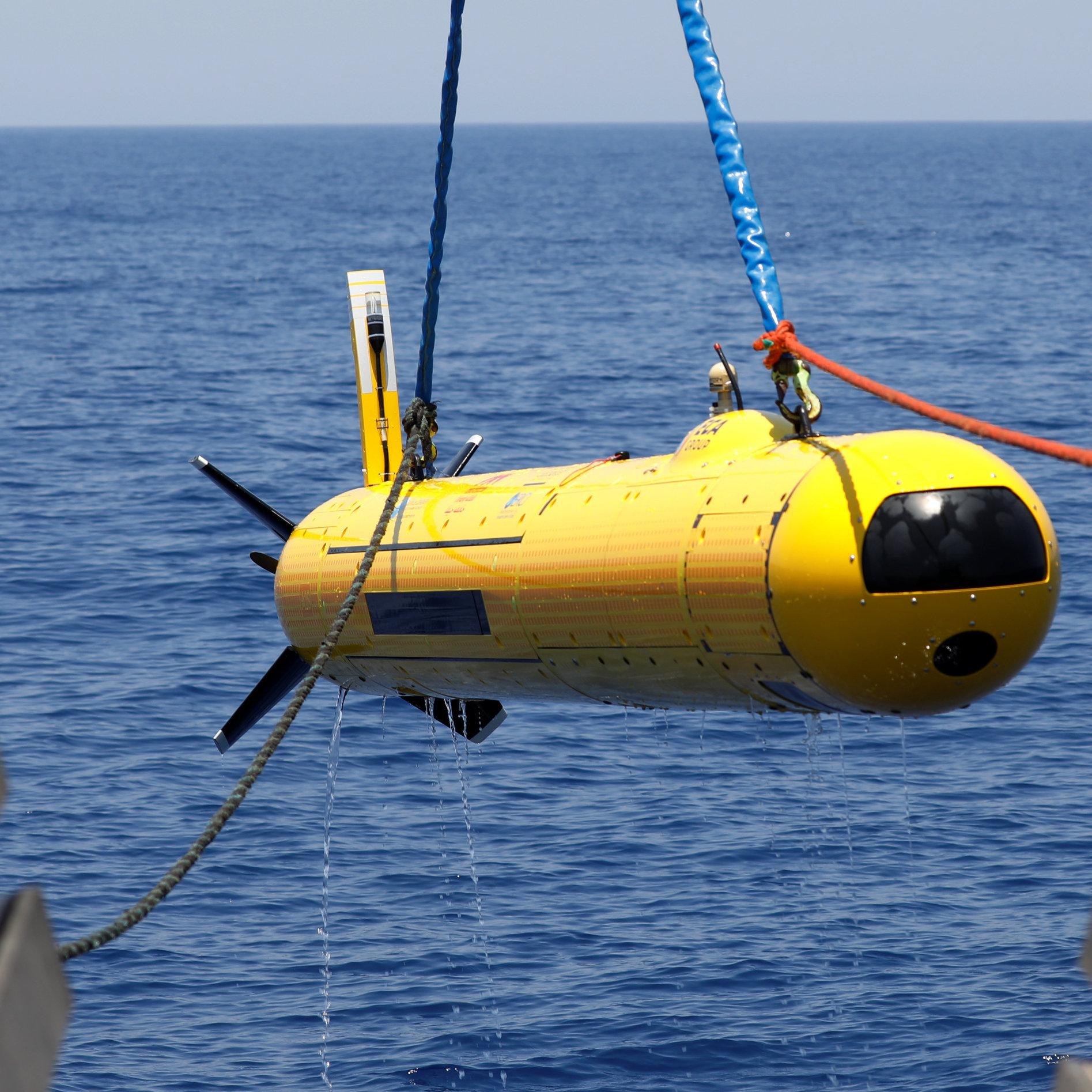 הרובוט המשוכלל בחיפושים אחרי השרידים בשבוע שעבר