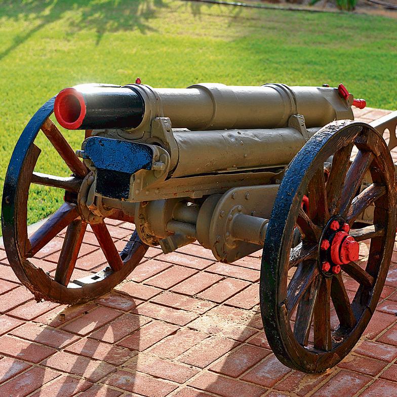 """התותח שירה. בן־גוריון כינה אותו """"התותח הקדוש"""""""