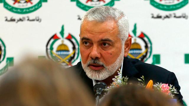 Hamas Chairman Ismail Haniyeh (Photo: AFP)