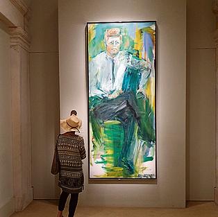 מוזיאון הדיוקנאות. קנדי ואובמה