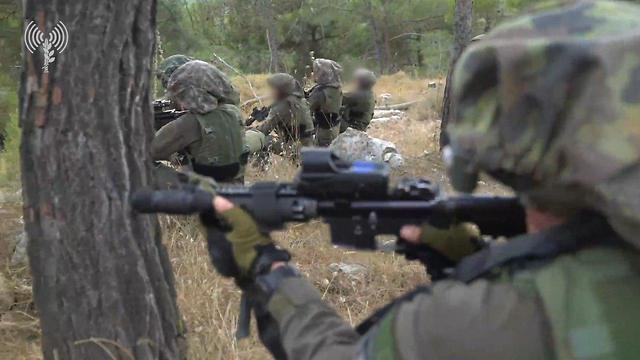 סיום תרגיל צבאי נרחב ורב-זרועי לתרגול תרחישי מוכנות בזירה צפונית (צילום: דובר צה