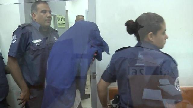 Кармель Мауда в суде. Фото: Амит Хубер