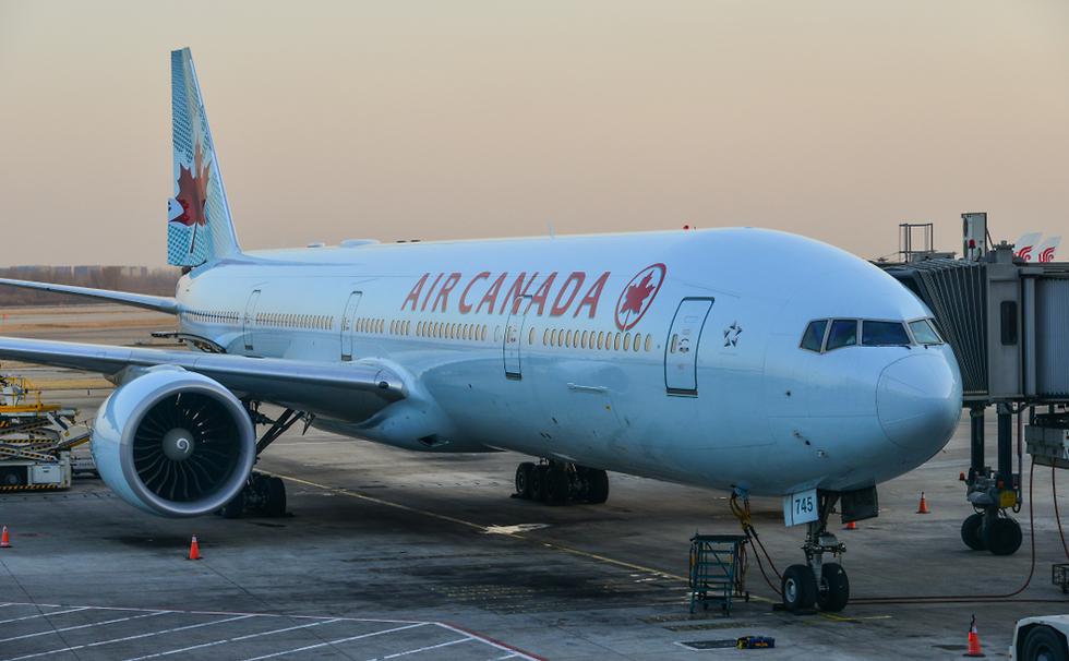 מטוס אייר קנדה (צילום: shutterstock)