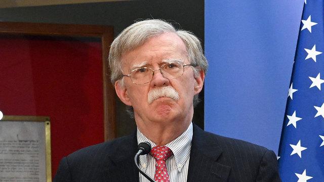 John Bolton, conseiller en sécurité nationale de Trump à Jérusalem (Photo: avec l'aimable autorisation de l'ambassade américaine à Jérusalem)