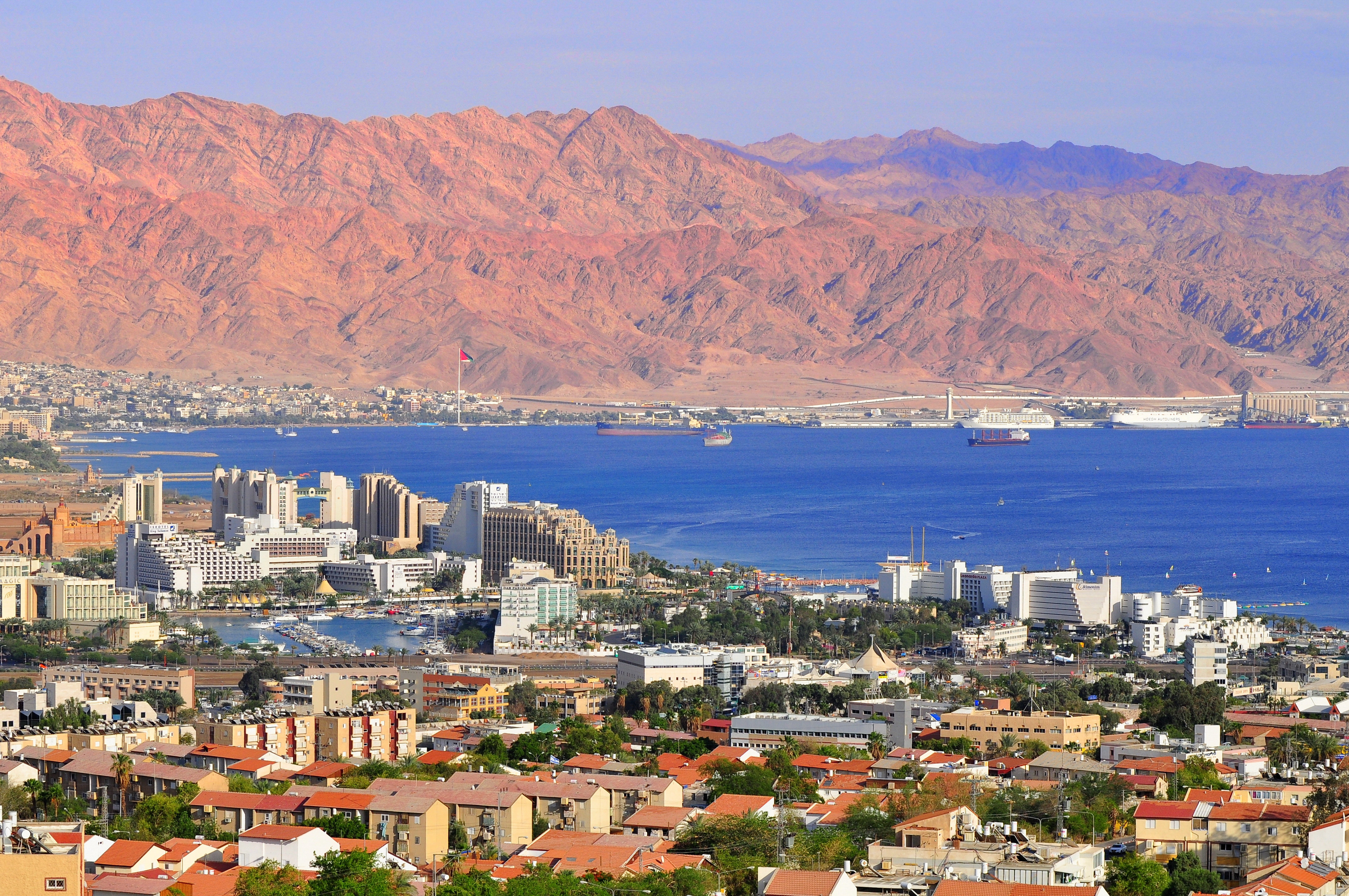 Eilat Bird's eye view (Photo: Shutterstock)