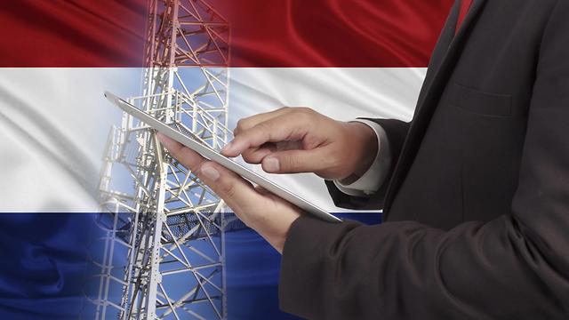 הולנד הפסקת תקשורת סלולר טלפון טלפונים (צילום: shutterstock)