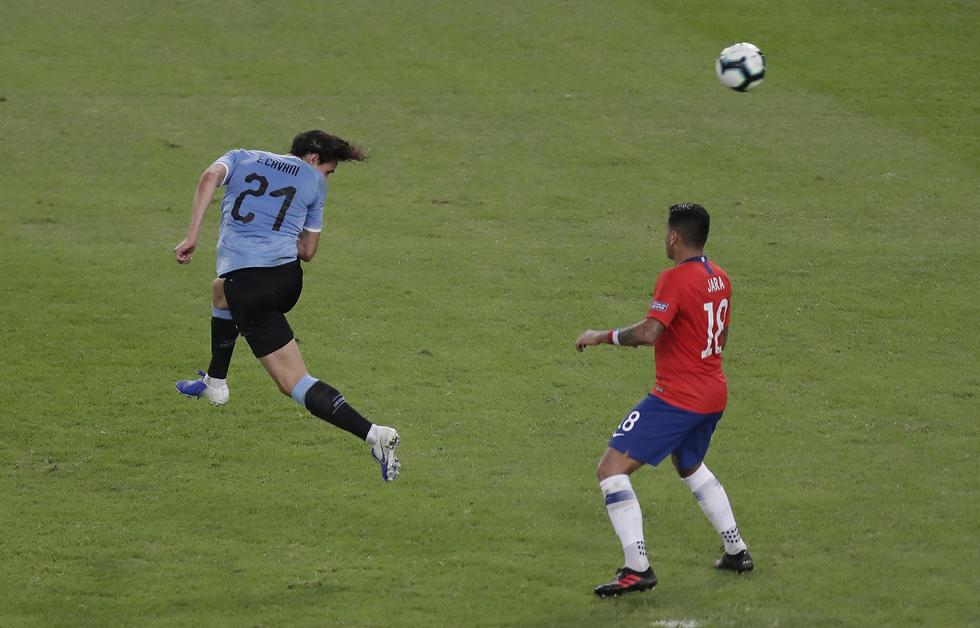 אדינסון קבאני נבחרת אורוגוואי (צילום: AP)