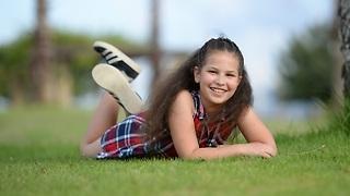 מאיה אשל - ילדה בת 13 חולה בפסוריאזיס (צילום: ואיל עווד  )
