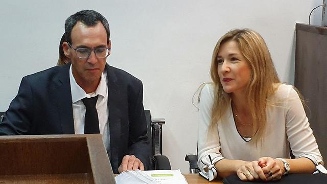 עורכי הדין ארז פדן וג'ני אבני מפרקליטות מחוז ירושלים (צילום: ישי פורת)