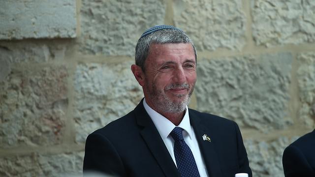 Rafi Peretz (Photo: Ohad Zwigenberg)