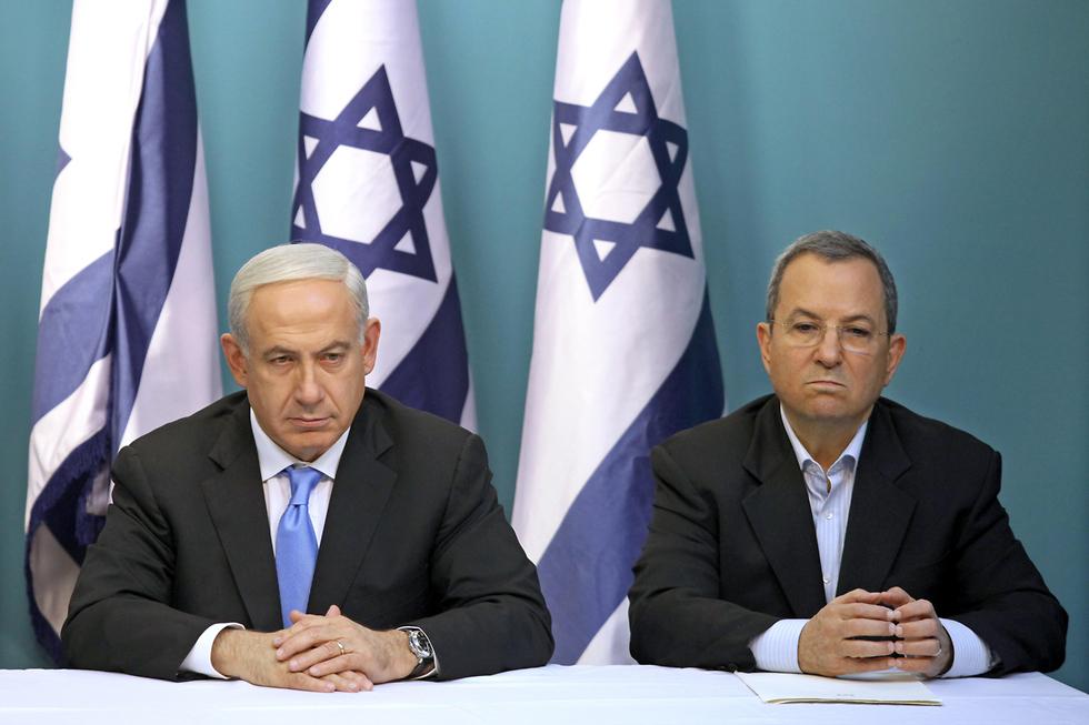 Биньямин Нетаниягу и Эхуд Барак. Фото: EPA
