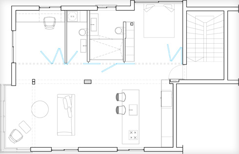 תוכנית הדירה (תוכנית: מיליק הראל אדריכלים)
