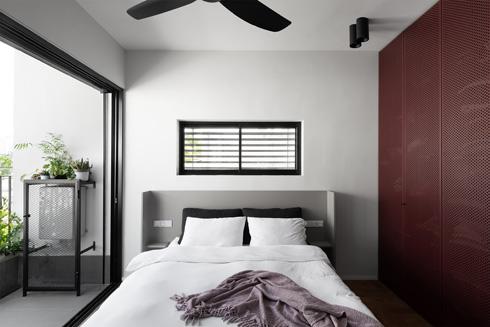 בצד השני - חדר השינה (צילום: גדעון לוין)