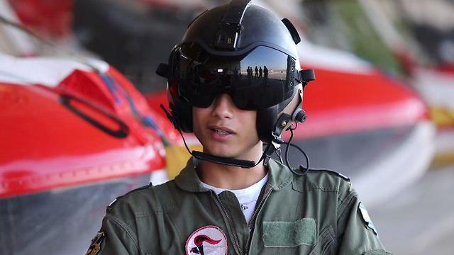 סגן ג', הטייס הדרוזי הראשון (צילום: רועי עידן)