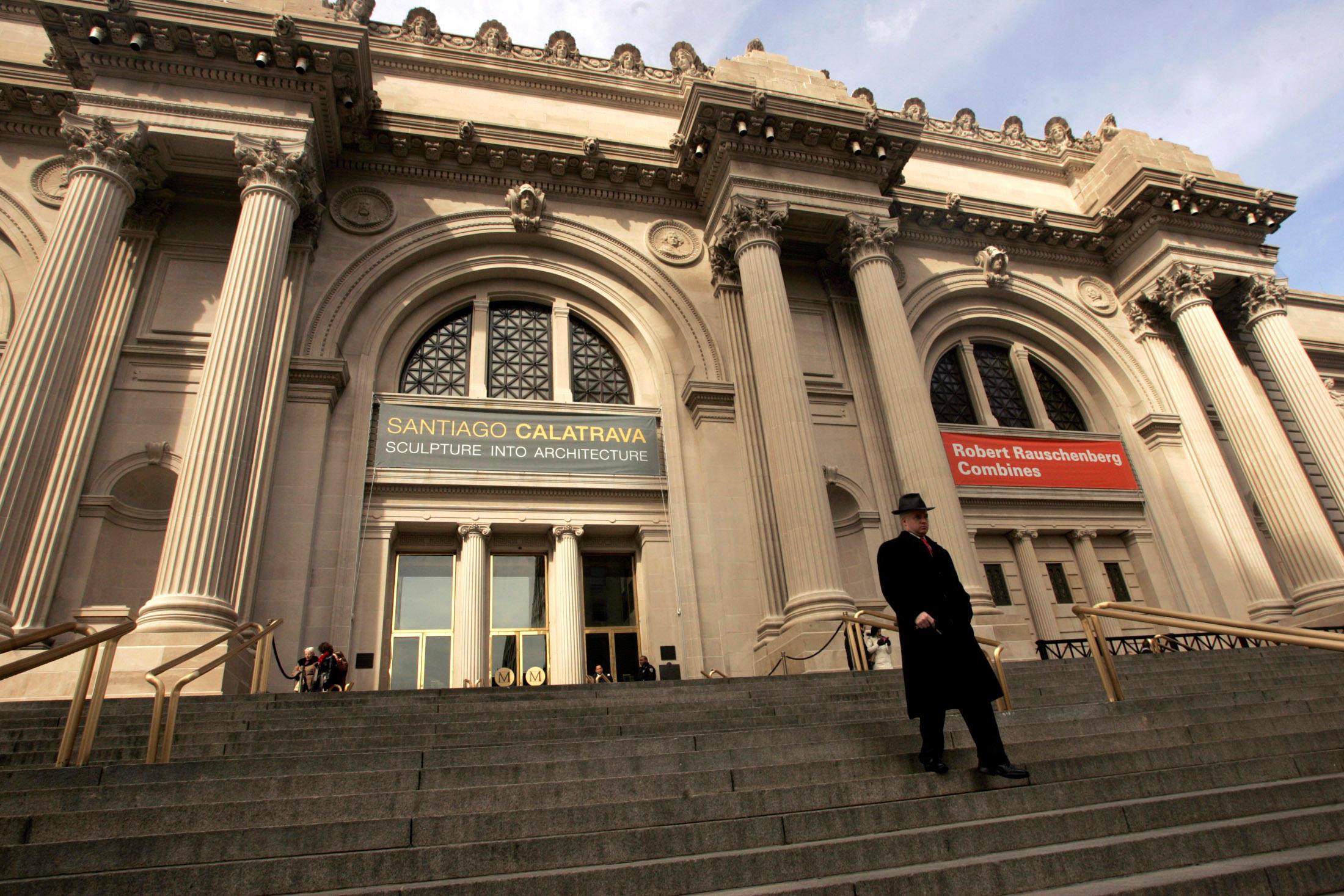 Metropolitan Museum of Art in New York (Photo: Reuters)